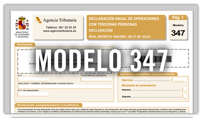 HACIENDA RECTIFICA Y RETRASA A FEBRERO LA PRESENTACIÓN DEL MODELO 347